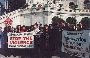 Abortion Violence is wrong